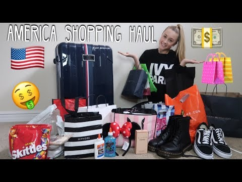 0fe2be7756 America Shopping Haul!