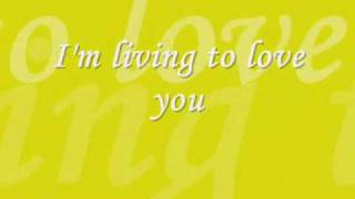 Sarah Conner - Living To Love You (lyrics)