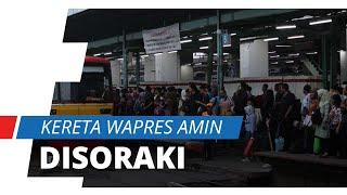 Kereta Wapres Amin Disoraki Calon Penumpang Gara-gara Bikin Jadwal Molor, PT KAI Beri Klarifikasi