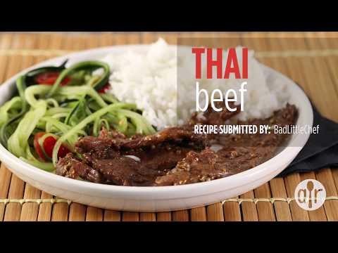How to Make Thai Beef   Dinner Recipes   Allrecipes.com