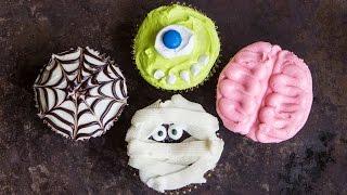 Halloween Cupcakes FOUR Spooktacular Ways - Hot Chocolate Hits