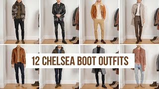 12 Ways To Style Chelsea Boots (Fall/Winter) | Outfit Ideas | Mens Fashion