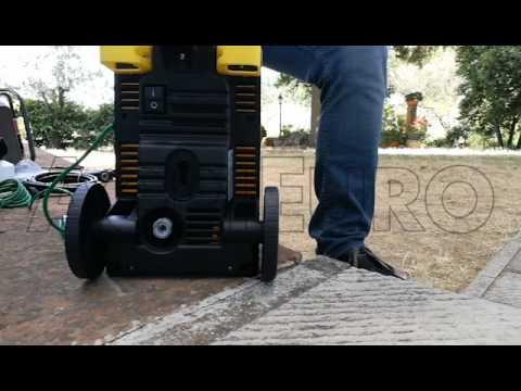 Montaggio Idropulitrice a freddo Lavor Mistral Plus 110 - Lavorwash elettrica ad acqua fredda