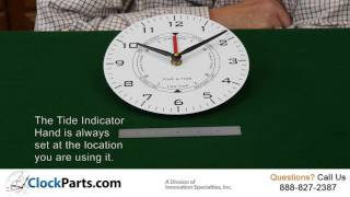 Time and Tide Clock Dial Faces