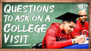 Top Questions To Ask On Your College Visit As A Student Athlete