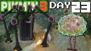 Pikmin 3: Mini-Boss Mayhem - DAY 23 (Nintendo Wii U HD Gameplay Walkthrough)