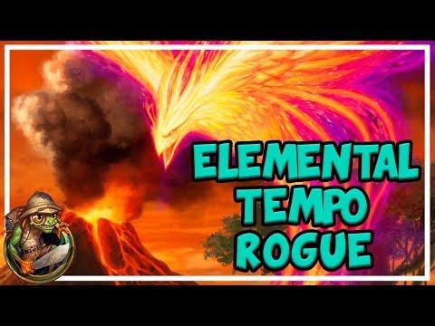 Hearthstone - Elemental Tempo Rogue (Season 43)
