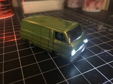 Download Hot Wheels : Custom Dodge A100 Van with Working Lights! HD Mp4 3GP Video and MP3