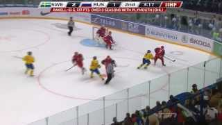 Jacob De La Rose 2013 WJC U20 Highlights