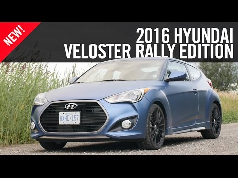 2016 Hyundai Veloster Rally Edition First Drive Review