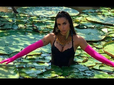 Anitta Leva Tombo Em Gravação Do Novo Clipe na Amazônia.