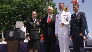 Vice President Mike Pence Delivers the 2018 Commencement Address at the U.S Coast Guard Academy - Video Youtube
