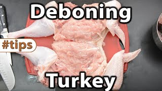 How to Debone a Turkey | Tips | Caveman Keto