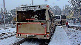 preview picture of video '[HD] Dombóvár város tömegközlekedése 2014.01.24'