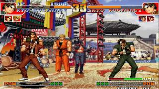 download and intsall king of fighter 97 in your pc