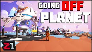 Lets Head to TUNDRA ! Leaving the Terran to Search for MORE Research! Astroneer Gameplay | Z1 Gaming