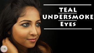 Image for video on Teal Undersmoke Eyes TUTORIAL | EASY Makeup for Indian Skintone  (NC44) by Stacey Castanha