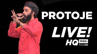 Protoje Live At  Reggae Geel Belgium 2018 Full Show !!!