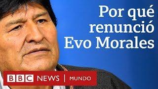 4 causas de la renuncia de Evo Morales en Bolivia | BBC Mundo