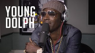 Hot 97 - Young Dolph talks about Yo Gotti texting him for 2 years straight, working with OT Genasis & More