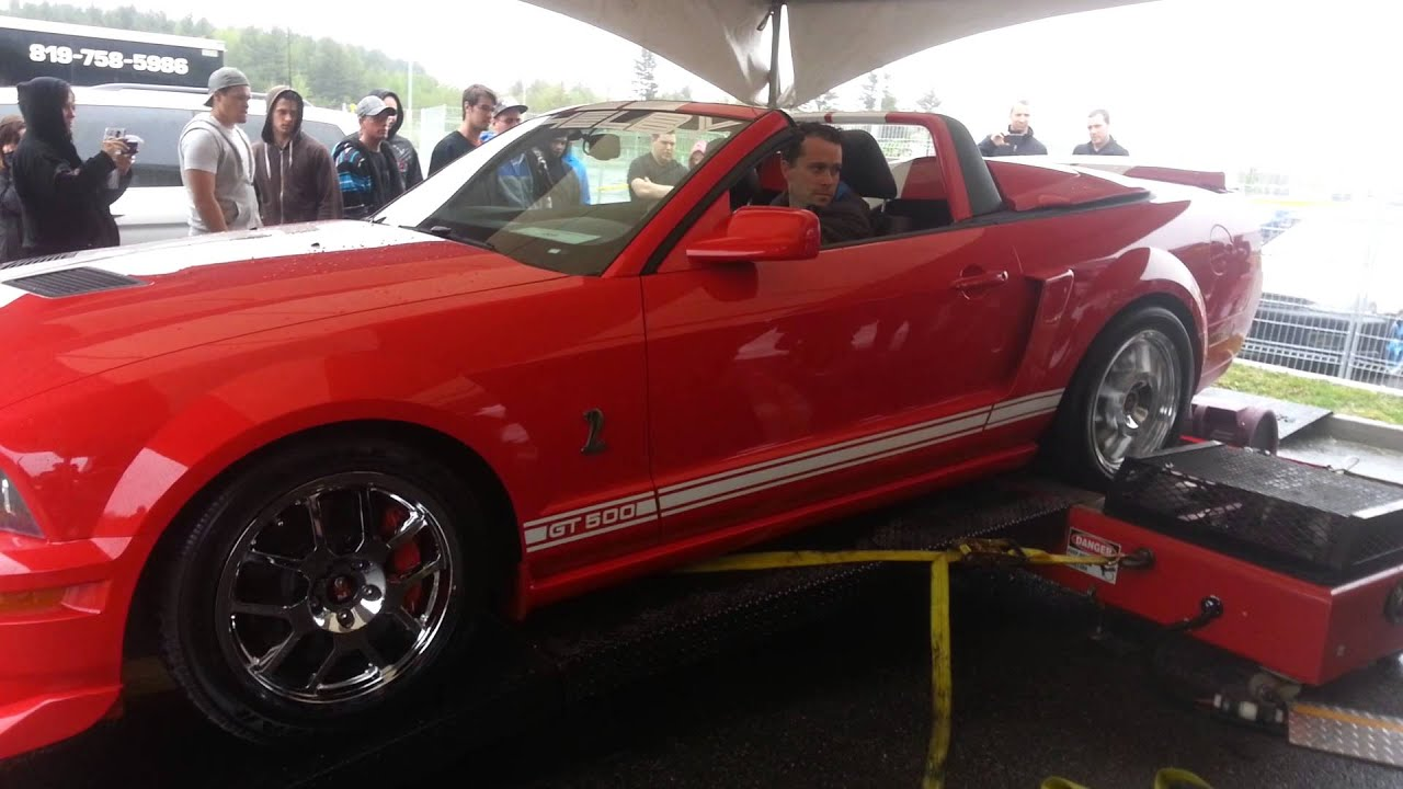 Watch This Shelby GT500 Destroy A Dyno Track
