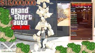 GTA 5 Online 1 40 Escape Menu w/ Money Drop+Rp+Recoveries(Un