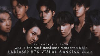 Who is the Most Handsome Member in BTS? Unbiased BTS Visual Ranking 2020