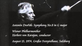 Dvořák: Symphony No.8 in G major - Karajan / Wiener Philharmoniker