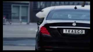 TRASCO luxury armored vehicle based on Mercedes-Benz S-Class V222