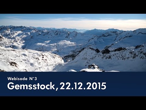Webisode N°3 - Gemsstock Sonnenpiste am 22.12.2015  - © SkiArena Andermatt-Sedrun