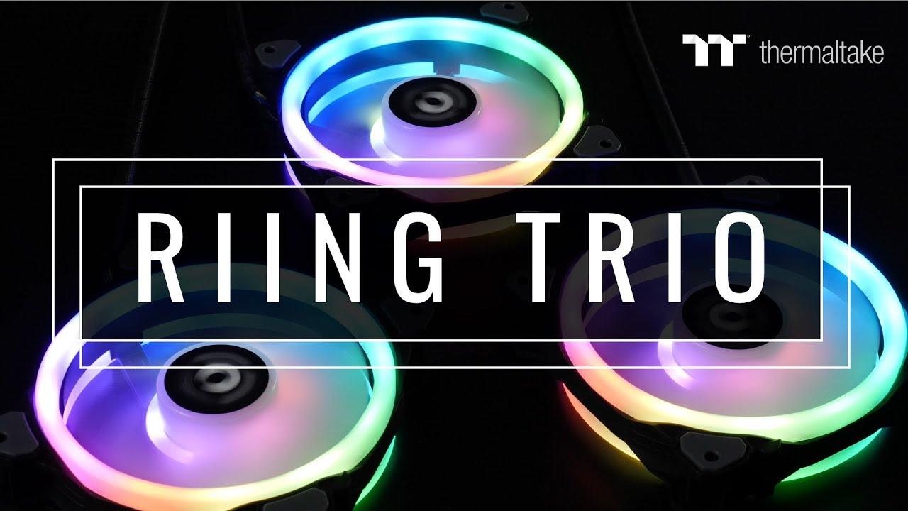 Thermaltake - Global - Riing Trio 12 RGB Radiator Fan TT