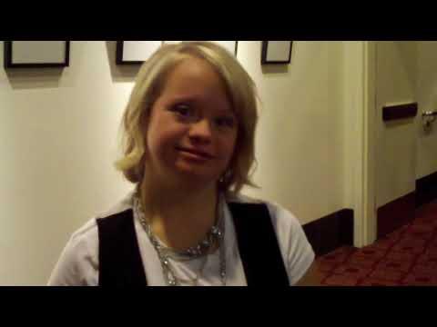 Veure vídeoSíndrome de Down: Lauren Potter