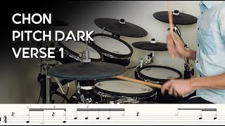 How To Play Chon Pitch Dark   Verse 1 [ Tricky Syncopation And Subdivision Change ]