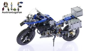 Lego Technic 42063 BMW R 1200 GS Adventure - Lego Speed Build Review