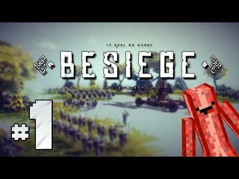 Klobáska | BESIEGE #1 | Zabíjíme vojáky !