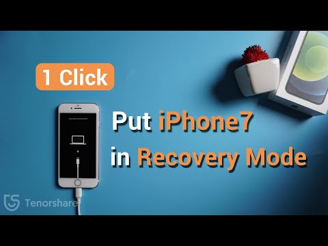 1 Click Put iphone 7 in recovery mode