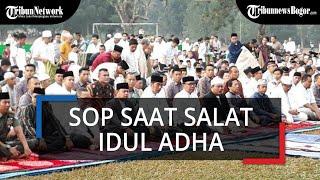 Protokol Kesehatan Shalat Idul Adha di Kota Bogor, Jemaah Bawa Sajadah Masing-masing