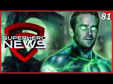 Superhero News #81: Armie Hammer as Green Lantern, Live Q&A