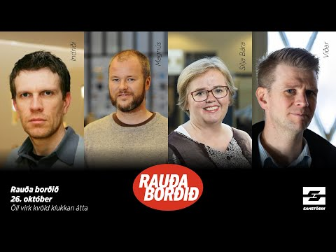 Rauða borðið: Stjórnmálaástandið í Bandaríkjunum