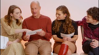 The Cast of Zombieland: Double Tap Test Their Apocalypse Survival Skills | POPSUGAR Pop Quiz