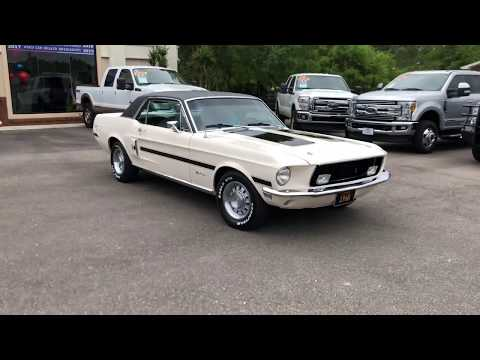 Video of 1968 Ford Mustang GT - $36,900.00 - PVA6