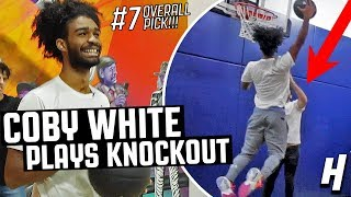 Coby White Plays KNOCKOUT vs. Team HoH | Chicago Bulls #7 Overall Pick