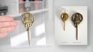 Prop Review: Game of Thrones Hand of the King Pin (Noble Collection)