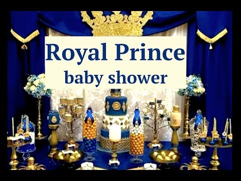 Royal Prince Baby Shower Decoration Ideas & Layouts
