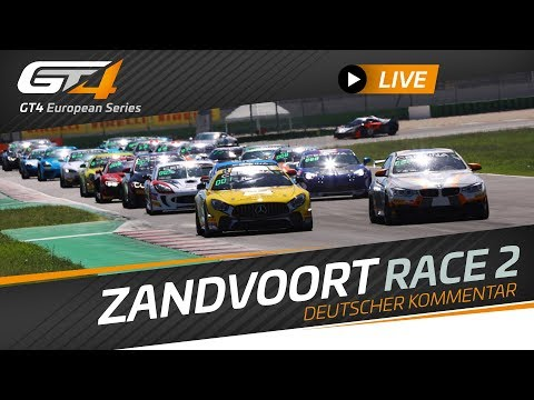 RACE 2 - ZANDVOORT - GT4 EUROPEAN SERIES 2019 - GERMAN