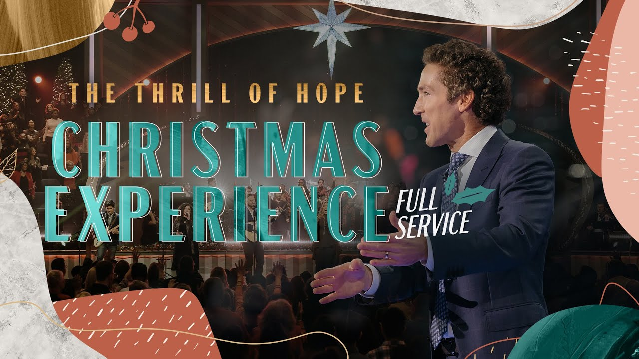Christmas Eve Service at Lakewood Church 24th December 2020