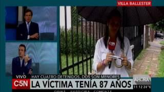 C5N - Policiales: un jubilado fue asesinado en Villa Ballester