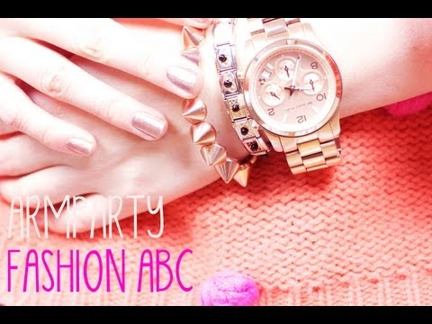 FASHION ABC: Armparty (+Verlosung)