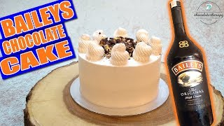 chocolate cake with whipped cream filling uk