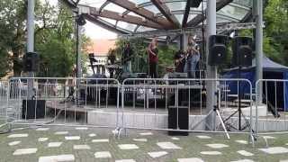Video AfterCROW (KE) - Tam niekde - live - (Levoča 16.8.2014)
